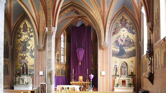 玛利亚·伊马库拉塔(Maria Immaculata)教堂。(图:维基百科)