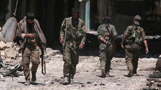 土耳其军队集结叙北部边境 叙政府军抢占这座城市