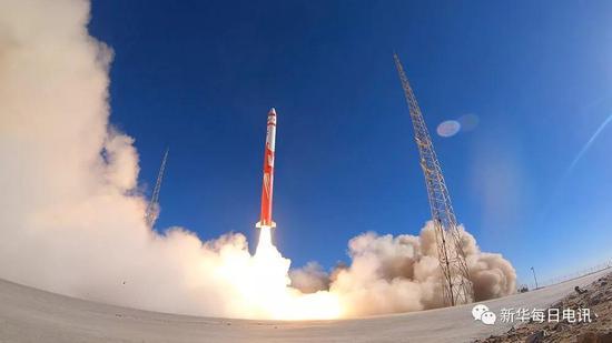 10月27日,蓝箭发射朱雀一号。