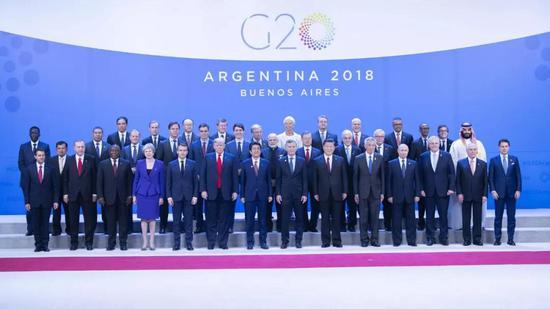 习近平出席二十国集团领导人第十三次峰会并发表重要讲话 图/新华