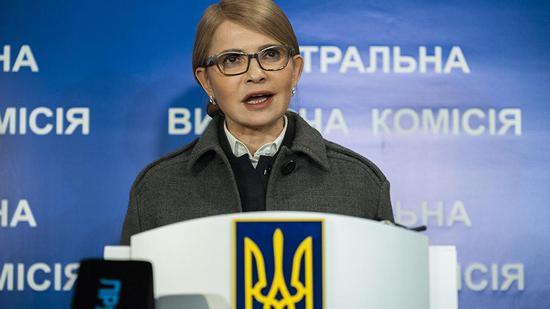 乌克兰前美女总理表决心:夺回克里米亚 加入北约