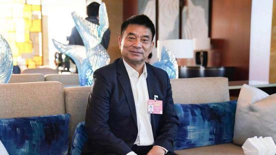 全国政协委员新希望集团董事长刘永好。新京报记者 陶冉 摄
