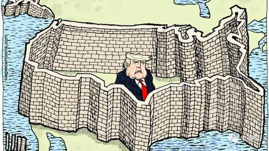 墨西哥有句俗话:墨西哥最大的悲剧,就是离上帝太远,离美国太近。
