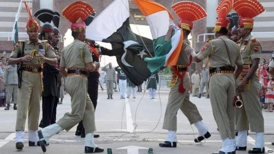 印巴克什米尔边界(来源:法新社)