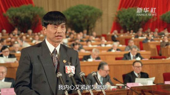 1993年,全国政协委员、民营企业家刘永好第一次走进人民大会堂并做大会发言
