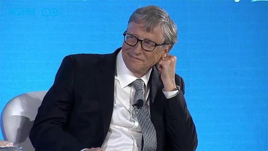 比尔·盖茨:不及由于对方是中国人就拒绝配相符