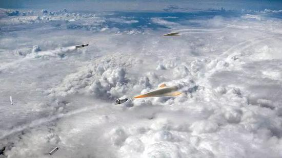 ▲美国未来的阻遏器阻遏高超音速武器的梦想图