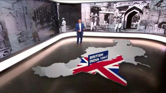 半岛电视台采用虚拟直播室解读印巴冲突
