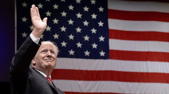 美国总统特朗普(图片来源:《国会山报》)