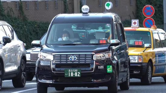 这是2月17日拍摄的日本东京。新华社记者 郭威 摄