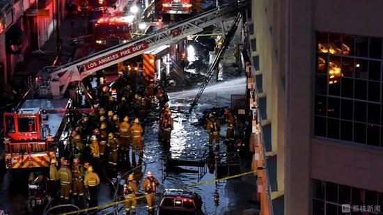 美国洛杉矶爆炸元凶竟是它 比煤气爆炸更惨烈(图)