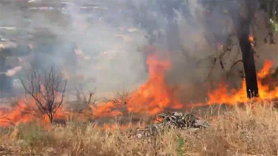 加州山火,来源:社交媒体