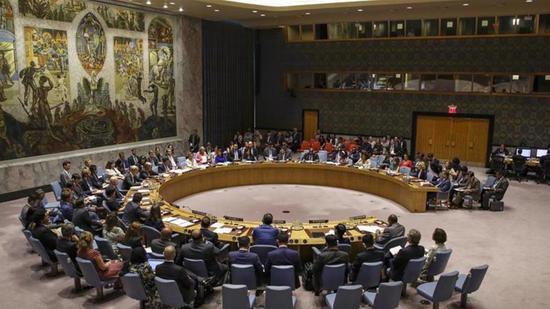 资料图:安理会拒绝恢复对伊制裁。(图源:联合国官网)