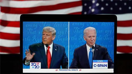 ·10月23日,美国大选举行开场辩说。