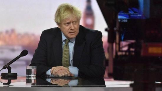 英国首相约翰逊接受访谈(路透社)