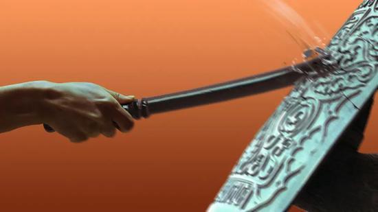 ▲《破防》CG插画 | 墨剑