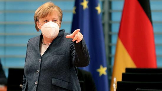 德国总理默克尔。(美联社)