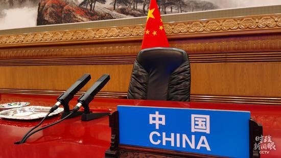 △北京人民大会堂,习近平主席在这里发表讲话。(总台央视记者王策拍摄)