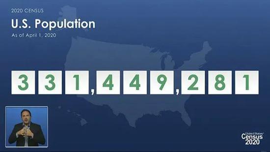 2021年4月26日,华盛顿特区,美国人口普查局发布最新美国人口普查数据。图|人民视觉