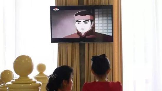 该游戏改编自在朝鲜备受欢迎的同名动画。