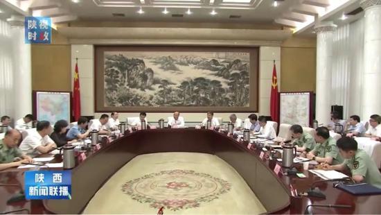 刘国中、赵一德、信长星履新后的首次亮相(图)