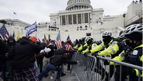 1月6日的华盛顿骚乱