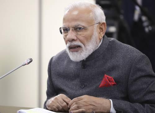 图为印度总理⌒ 莫迪。新华社/美联