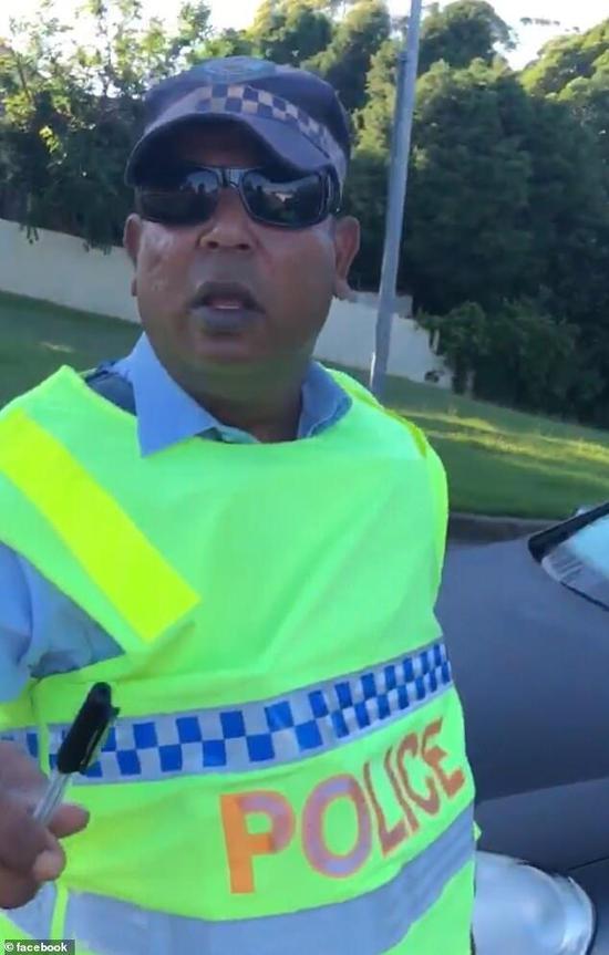 新南威尔士公路巡警(图片:《每日邮报》)