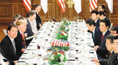 特朗普访日秀亲密 外媒:两国正就两方面殊死交涉_中欧新闻_欧洲中文网