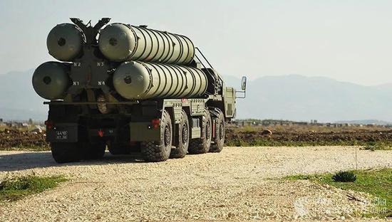 ▲俄S-400防空导弹系统