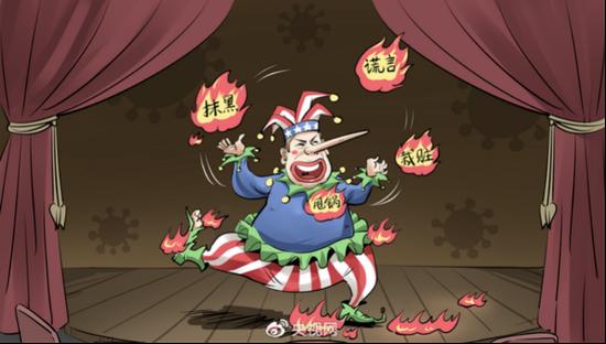 蓬佩奥:政治小丑图:央视网