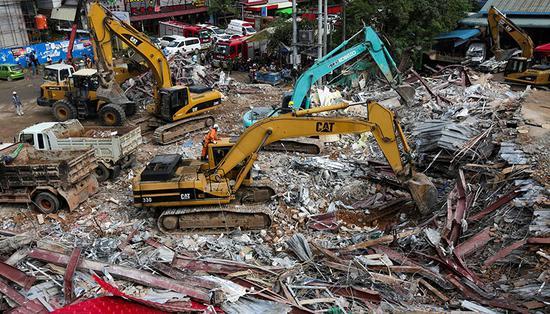 柬埔寨大楼坍塌致28死 涉事中国公民被诉过失杀人