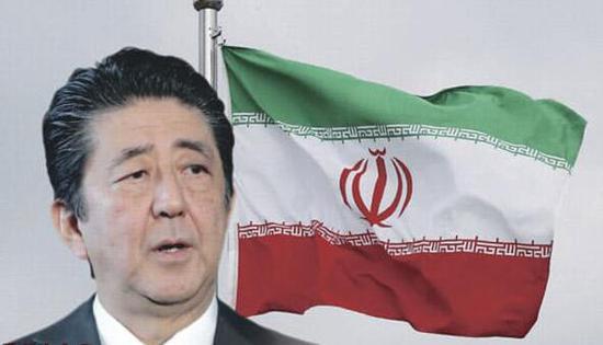 安倍访问伊朗欲充