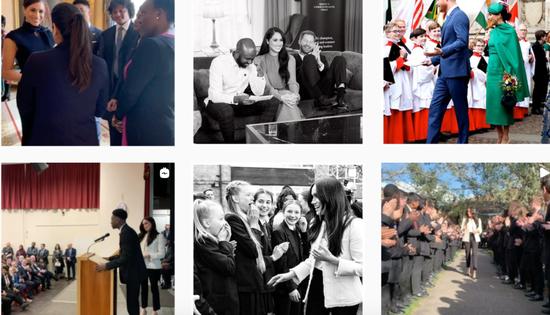 """曾经,""""苏赛克斯皇家""""账号内容丰富多彩。来源:Instagram"""