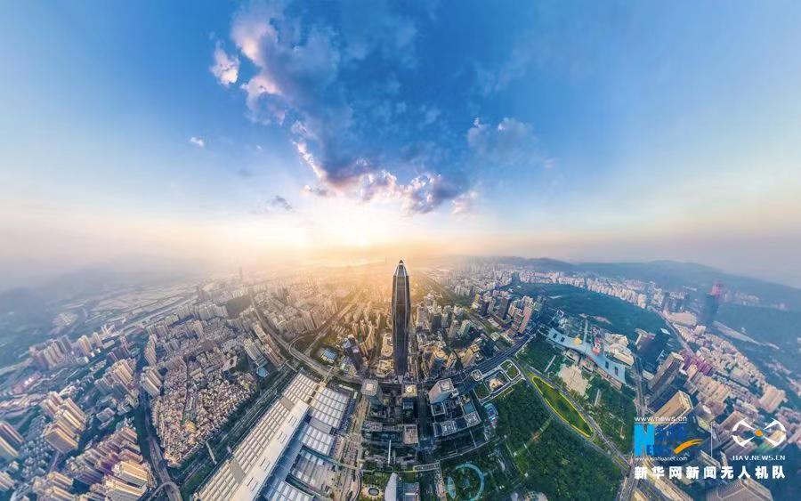 深圳平安金融中心。新华网发(刘东林 摄)