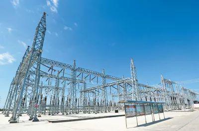 缅甸北克钦邦与230千伏主干网连通工程项目现场。