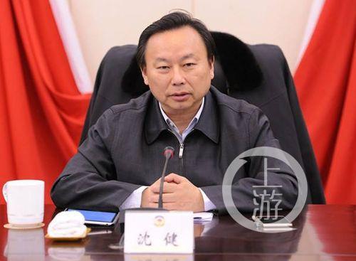退休一年半后 南京市政协原主席沈健服毒自杀(图)