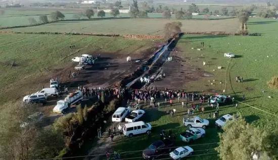 墨西哥输油管爆炸:4小时前就已经收到军方警告