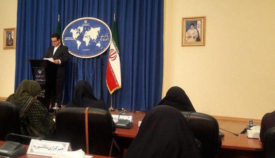 伊朗外交部发言人表示目前尚无与美会谈计划。(图:ISNA)