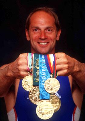 史蒂芬·雷德格雷夫拥有五枚奥运金牌。