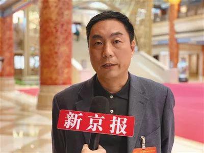 ▲全国人大代表、北京大学附属中学校长王铮