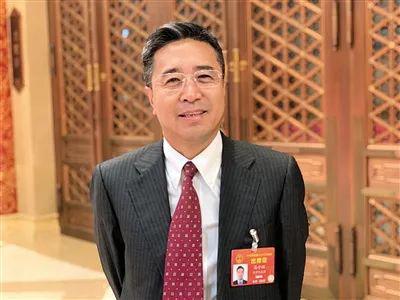 ▲全国人大代表、北京市律师协会会长高子程