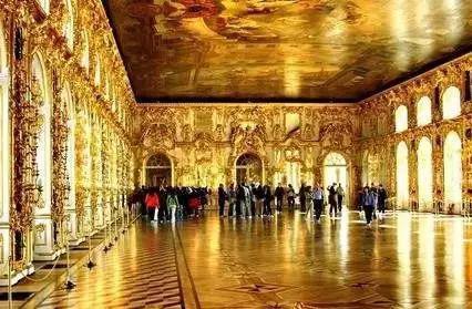 叶卡捷琳娜宫皇宫大厅