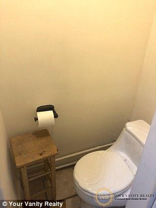 """""""蝸居""""內的廁所。圖自房地產中介Your Vanity Realty"""