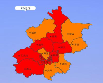 北京空气质量已达中度污染  适量减少户外运动