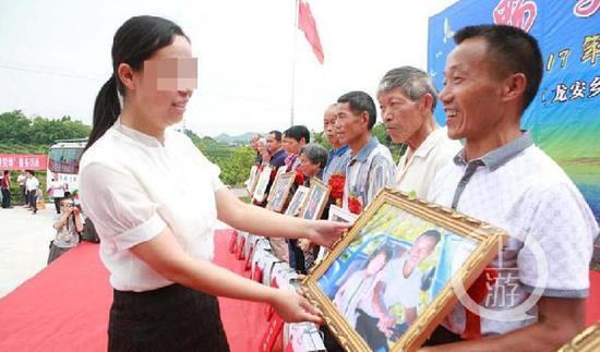 ▲被害人广安市广安区原副区长黎永兰(左)。图片来源/广安区政府官网