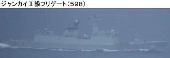 日本防卫省今日发布的另一组照片