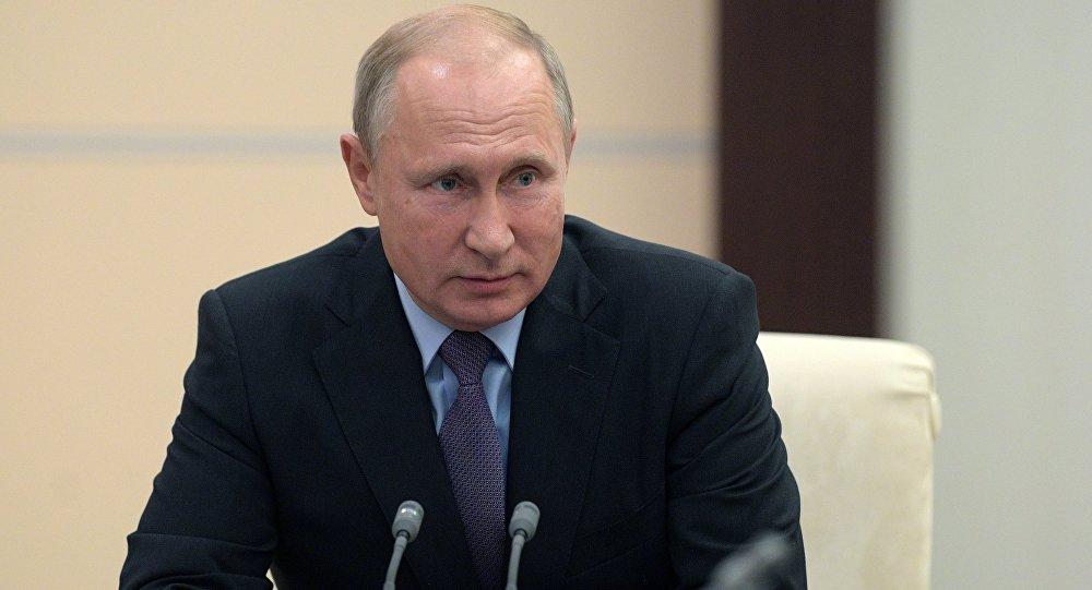 普京称,期待俄新武器能让民俗发外侵袭性言论的人自重。(图源:俄罗斯卫星通讯社)