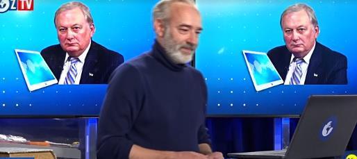 乌克兰驻北约前特使在电视节现在中外态(图源:视频截图)