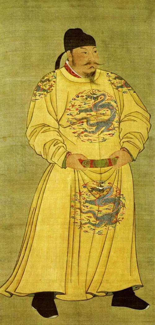 """(图为唐太宗李世民画像,他在位时的""""贞观之治""""众所周知,其实日本清和天皇也使用过""""贞观""""这个年号,巧合的是也形成了一个比较清明的""""贞观之治"""")"""